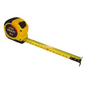 Flessometro 8m Stanley MAX
