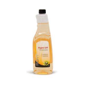 Liquido Right Off per la rimozione dei residui di adesivo
